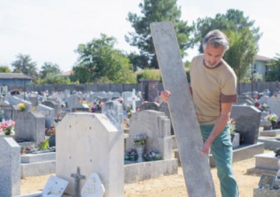 Travaux de cimetière à Villetaneuse, Saint-Denis, Pierrefitte-sur-Seine…